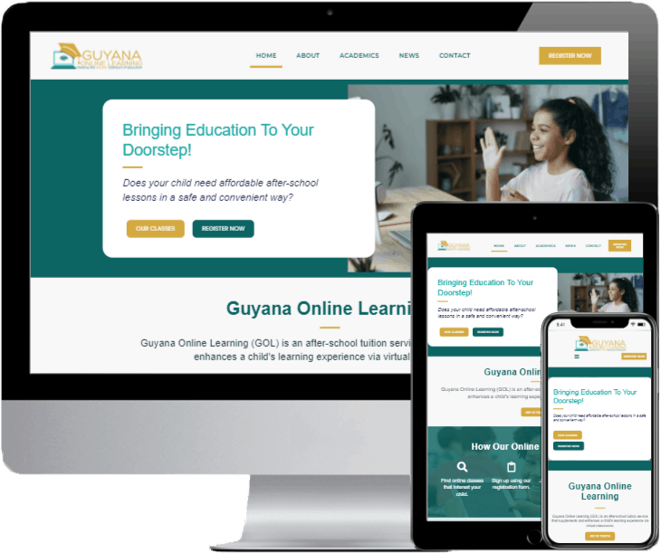 guyana-online-learning-website-preview