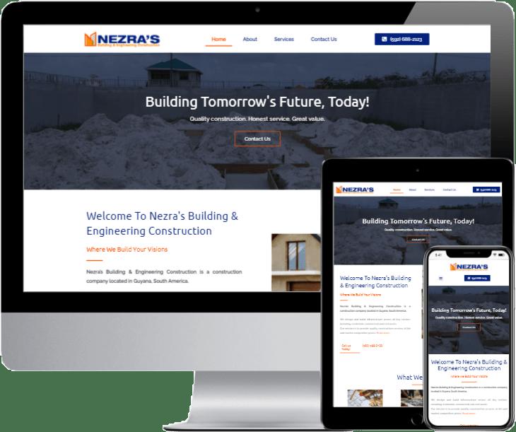 nezras-building-engineering-construction-website