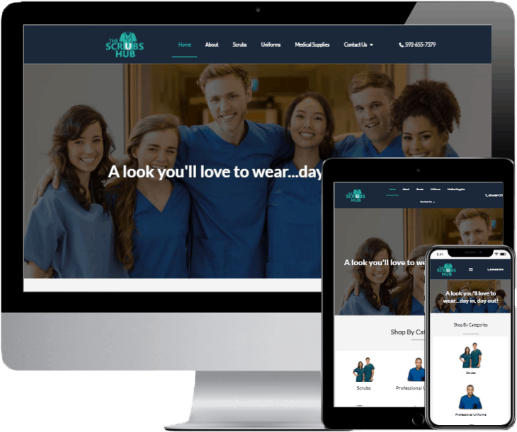 the-scrubs-hub-website-preview